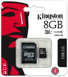 Kingston 8GB Micro SDHC Class 10