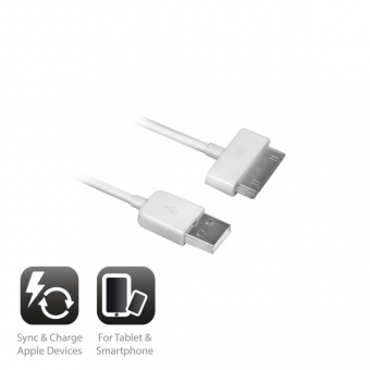 Ewent 30-pins Apple Cable